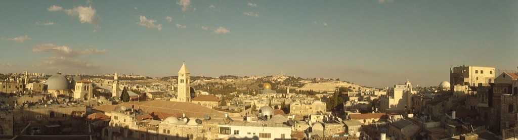 City of Jerusalem, Sukkot is a picture of restoration