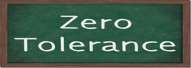 zero tolerance_med