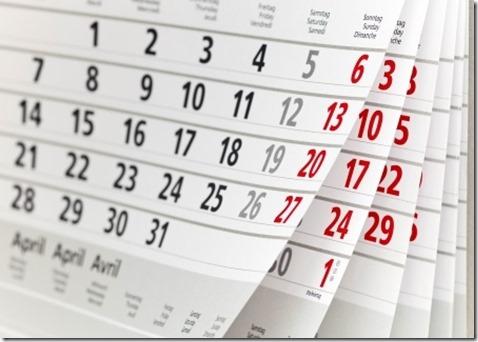 calendar omer
