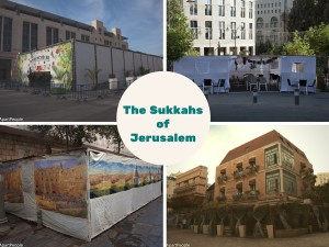 The different Sukkahs of Jerualem