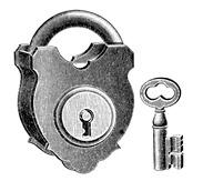 Lock-Key-Vintage-GraphicsFairy