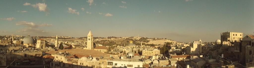City of Jerusalem, Sukkot is a picture of restoration