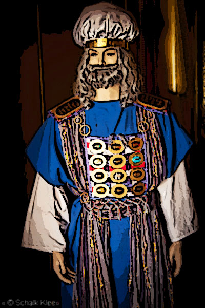 High Priest of Israel on the Day of Atonement - Yom Kippur