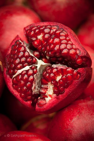 Pomegranate are ready for Sukkot