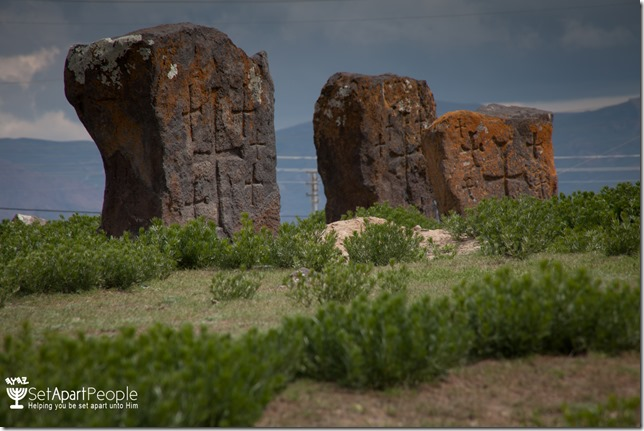 23.Rocks with crosses