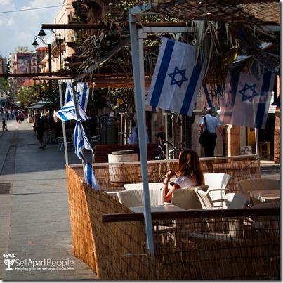 Sukkah in Jerusalem