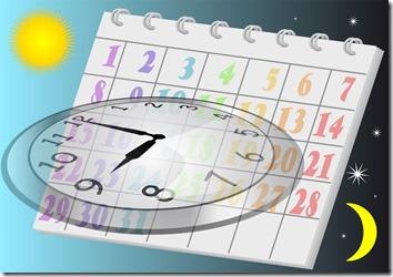 Calendar_with sun and moon