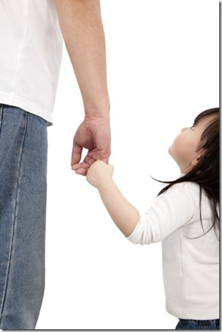 Discipleship - father and daughter