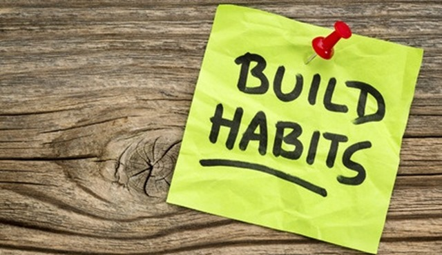 Build habits to set yourself apart