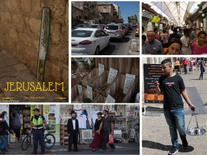 Jerusaem - The city of gold durig the feast of Sukkot